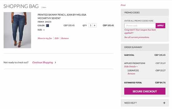 picture relating to Lane Bryant Printable Coupons identify 40% $75 Off Lane Bryant Discount codes Coupon Codes Coupon Sprite