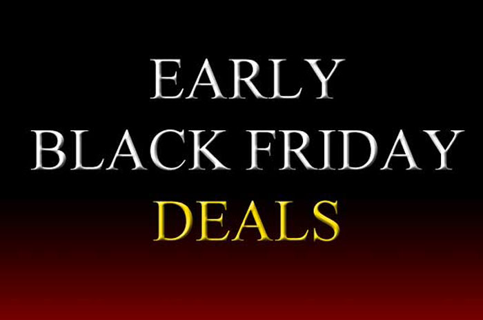 Early Black Friday Deals - Up To 75% Off